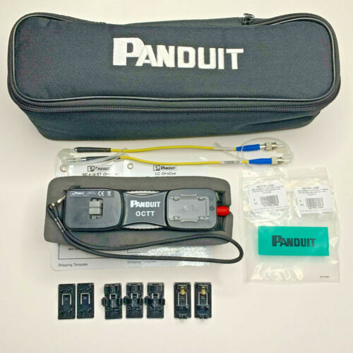 Panduit OCTT OptiCam Fiber Optic Termination Kit