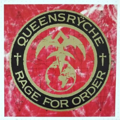 QUEENSRYCHE Rage For Order BANNER HUGE 4X4 Ft Fabric Poster Flag Tapestry art