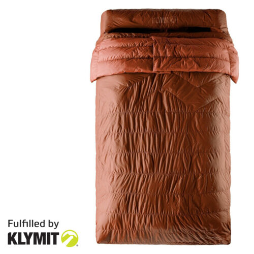 KLYMIT Double 30 Degree Synthetic Sleeping Bag - Factory Refurbished