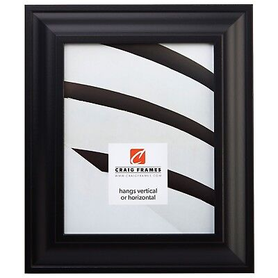 "Craig Frames 2"" Wide Modern Black Wall Decor Picture Frames"
