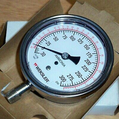 Weksler 14npt V300psi 3 Regal Ammonia Gauge Bp-4-3-y-ab-4-l-w 10249539-1