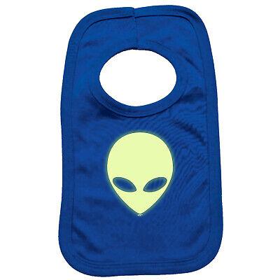 Glow In The Dark Napkins (Funny Baby Infants Bib Napkin - Alien Head Glow In The)