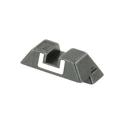 Glock Rear Sight Steel W/White Outline, 6.9mm~SP04204