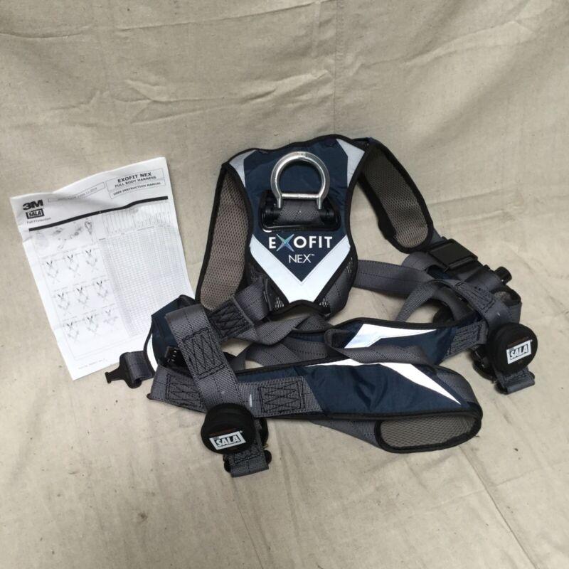 3M DBI-SALA 1113007 Full Body Harness 420 lb Gray - L