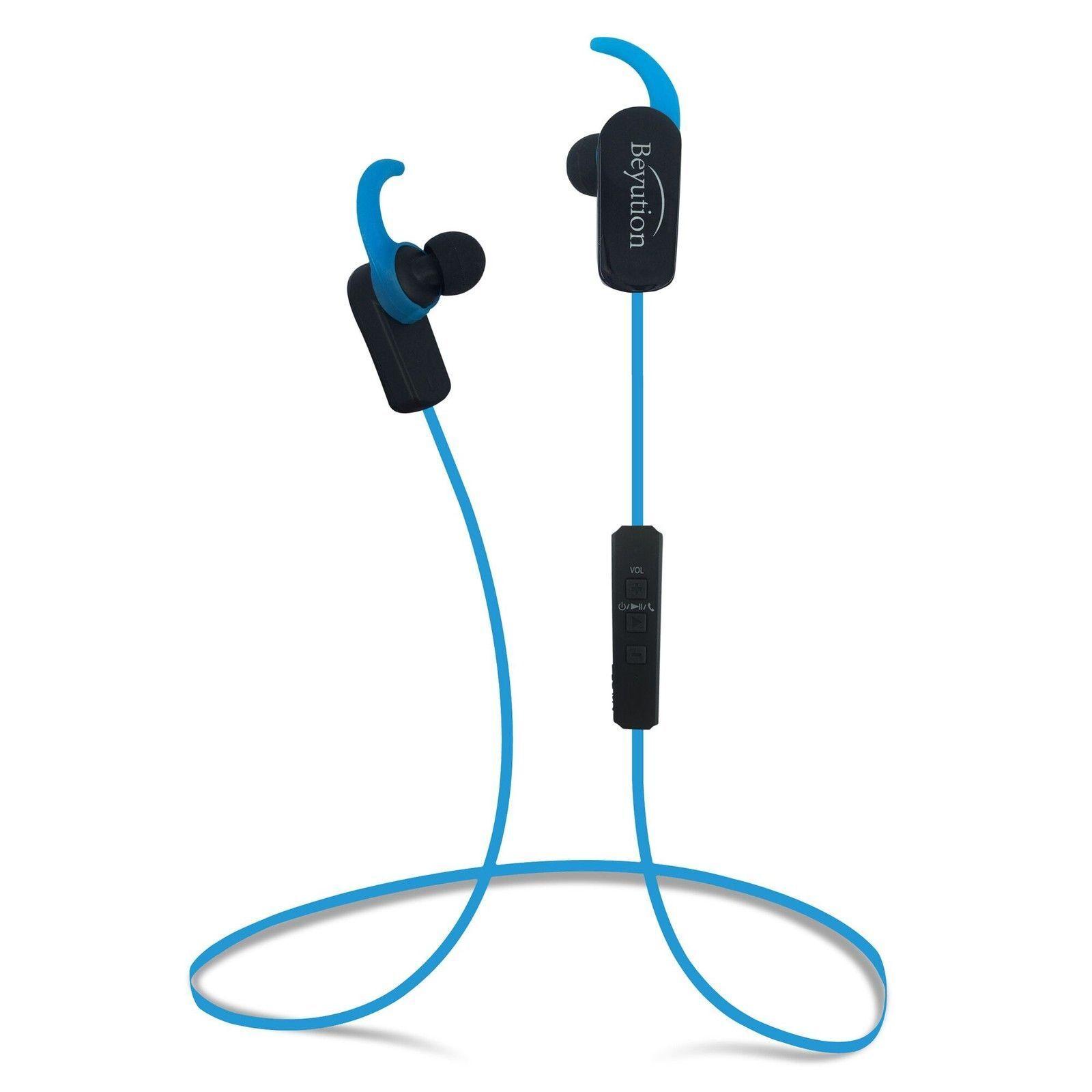 Beyution Wireless Bluetooth 4.1 Headphones Sport Earbuds w N