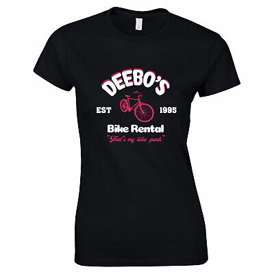 Halloween Costumes Rentals (677 Deebo's Bike Rental Womens T-shirt funny gangster movie 90s Friday)