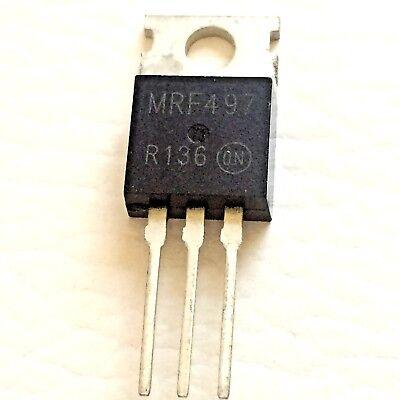 2 Pieces Mrf497 Npn Silicon Rf Power Transistor