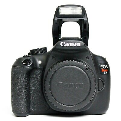 Canon Rebel EOS T5 Black DSLR Camera (Body Only) - Free Shipping