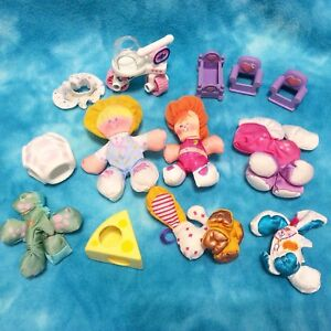 1980s Vintage Fisher Price Smooshees Dolls