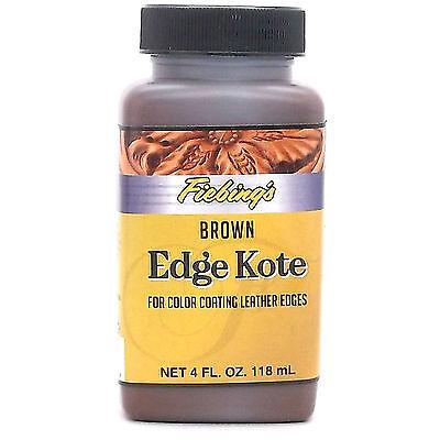 Edge Kote Brown by Fiebing's 4 oz (118 mL) 2225-02 EKOT24P004Z