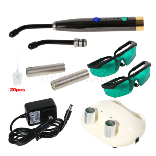 Dental Photo-Activated Disinfection Heal Laser Diode Light Lamp Rechargeable X1