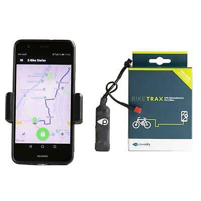 BikeTrax GPS-Tracker E-Bike Ortung Überwachung Peilsender Echtzeit Fahrrad