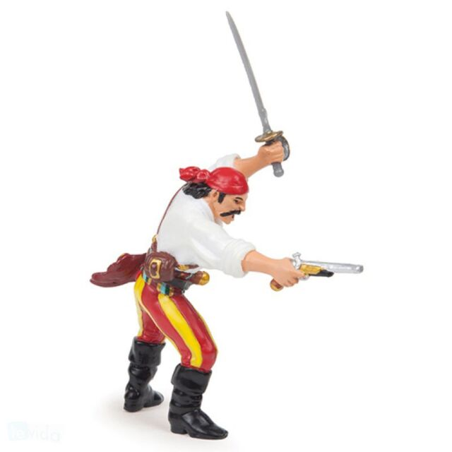 Papo - Pirate With Gun figure Papo: Pirates and Corsairs - Model 39423