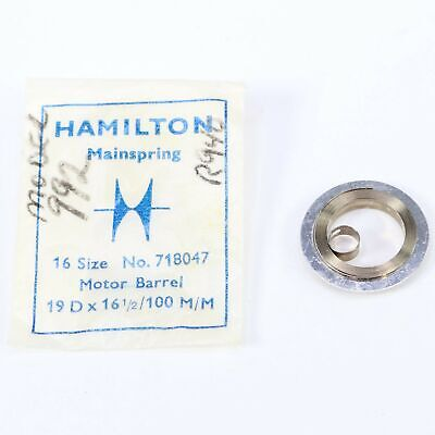 HAMILTON 16 SIZE POCKET WATCH MAINSPRING old #534 / New # 718047 - BV474
