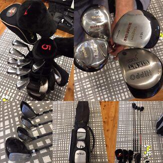 Full set of golfing gear - Golf club bag & extras READY TO PLAY