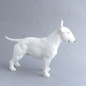 Bull Terrier Vintage North Light Dog Figurine  Made in England