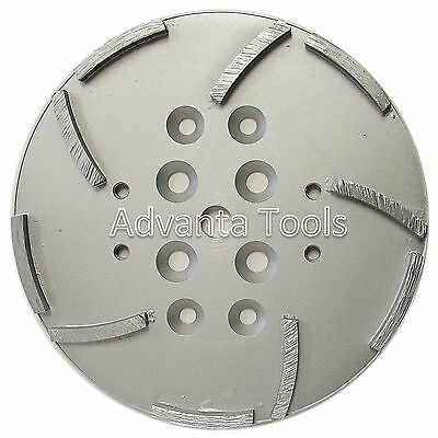 10 Concrete Grinding Head For Edco Blastrac Floor Grinders - 10 Segments