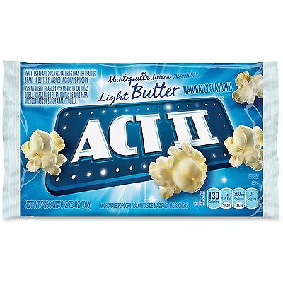 Conagra Foods, Inc Act II Microwave Popcorn 2.75oz. 36/CT Light Butter 23243 Act Ii Light Butter Popcorn
