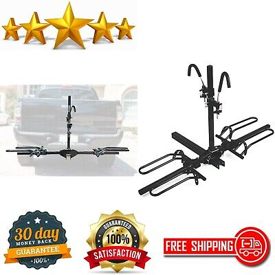 Mountain Bike Fat Tire Bicycle Adjustable Hitch Rack Universal & Folds Carrier