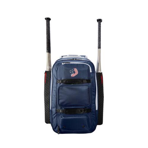 DeMarini Spectre Baseball/Softball Bat Equipment Backpack Bag Navy WTD9410NA