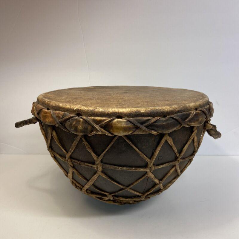 Vintage Turkish Military Kettle Drum