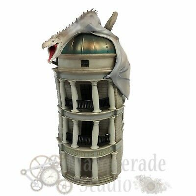 Harry Potter Diagon Alley Gringotts Bank Dragon PVC Coin Bank
