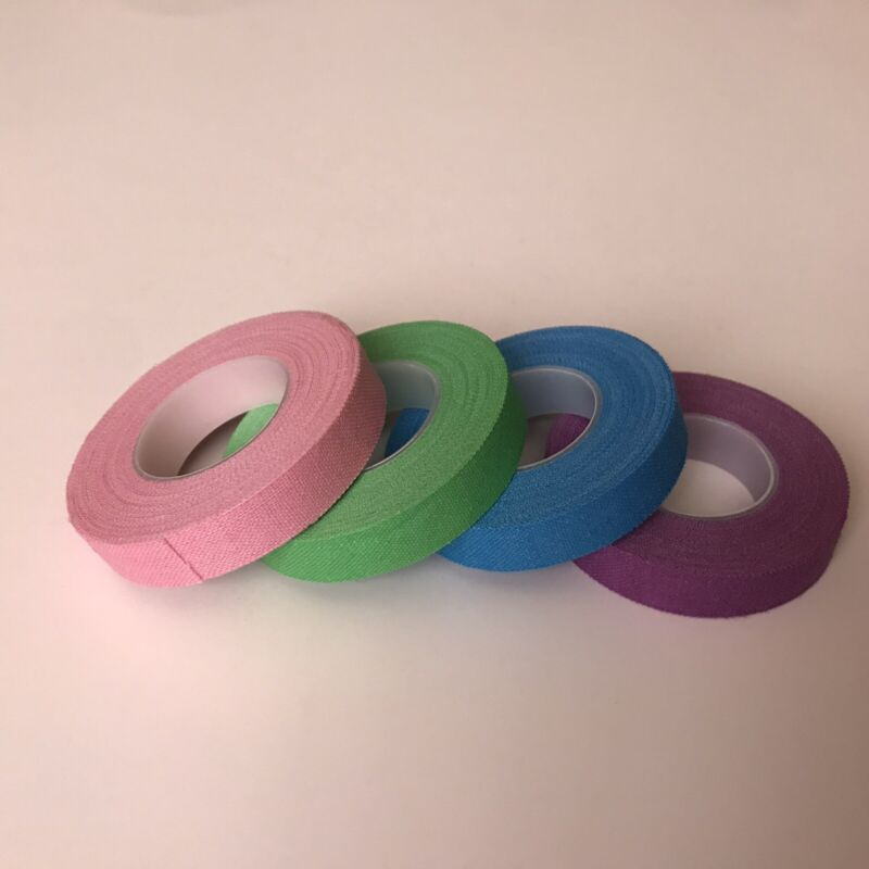 COLOR ADHESIVE TAPES FOR GUZHENG AND PIPA PICK 5 ROLLS-古筝/琵琶指甲专用彩色胶布5卷