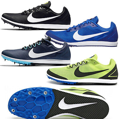 Mens Field Spikes - New Nike Zoom Rival D 10 Mens Track & Field Spikes Distance Running Racing Shoes