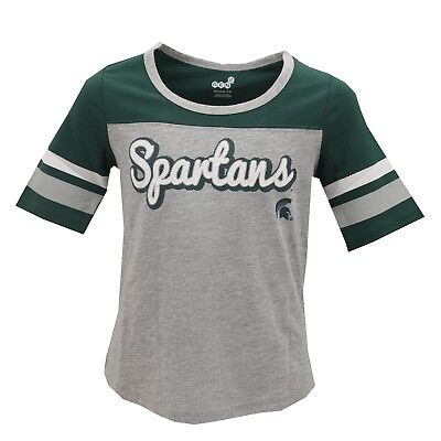 Michigan State Spartans Official NCAA Apparel Kids Youth Girls Size T-Shirt -