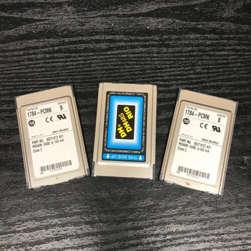 Allen Bradley 1784-PCMK Ser B Communication Card DH+ / RIO / DH485 PCMCIA PLC