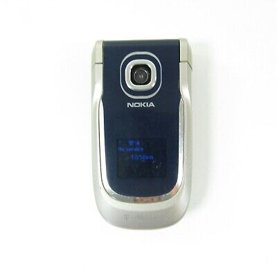 Nokia 2760 - Blue (T-Mobile) Basic Flip Cellular Phone