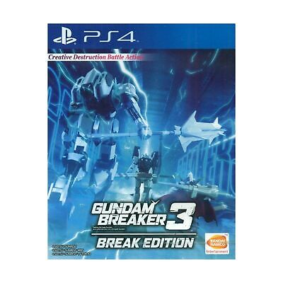 PS4 Gundam Breaker 3 Break Edition (English Subtitle) for Playstation 4, usado comprar usado  Enviando para Brazil