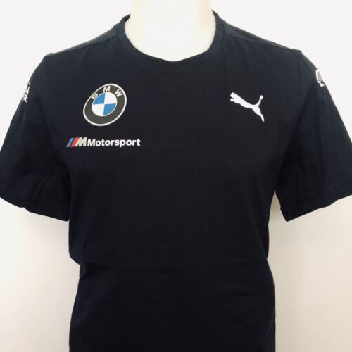 Puma BMW M Motorsport Team Men's Shirt - 762372 01 Anthracite Black