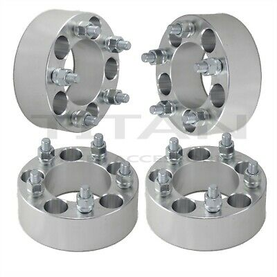 """(4) 50mm Wheel Spacers 5x4.5 2.0"""" Inch Fits Acura TSX TL MDX Integra Type R"""