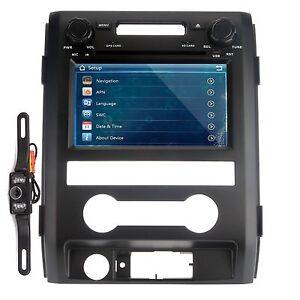 FORD F-150 2009-2014 Car DVD Player GPS Navigation In-dash Stereo Radio +Camera