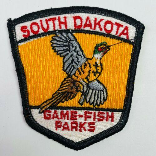 South Dakota Game Fish Parks SD Patch (A7)