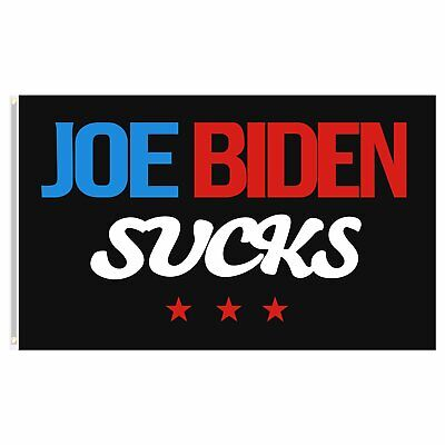 Joe Biden Sucks Flag Not My President Impeach 3x5ft Trump 2024 USA