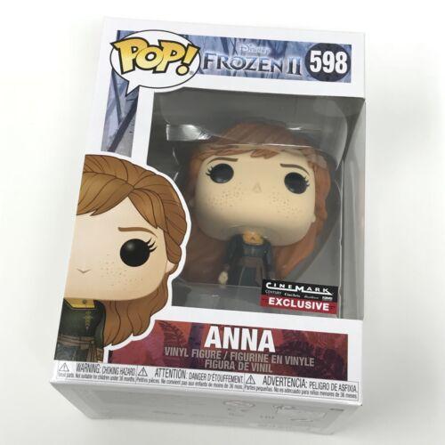 Anna #598 Cinemark Exclusive Funko Pop - Frozen II 2 - Mint