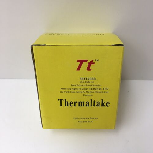 Thermaltake CPU cooler P/N: FC0370 For Socket 370 only NEW