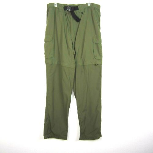 """BSA Boy Scouts of America Size L x 34"""" Adult Mens Switchback Pant Convertible"""