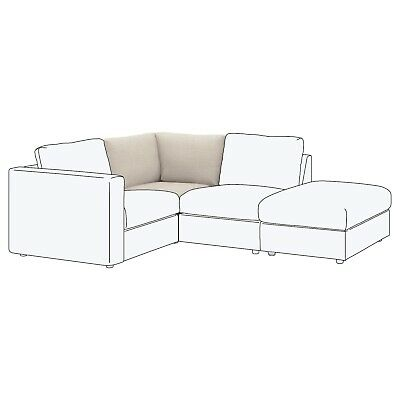 *** IKEA VIMLE Cover for Corner Seat Section, in Gunnared Beige (103.510.78)...