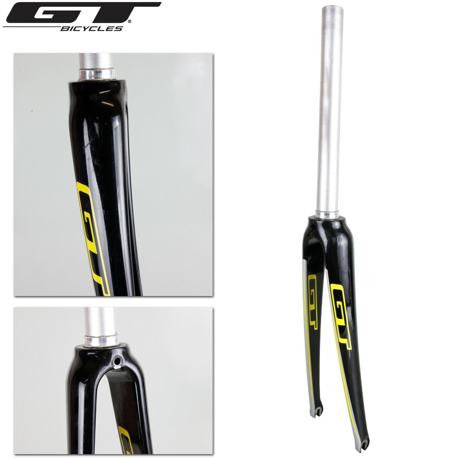"""Carbon 12K Road XC Bike Rigid Fork 1 1//8/"""" 700C steerer tube length 300mm Caliper"""