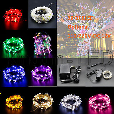 32ft 50/100 LED String Fairy Light Multi-Color for Christmas Party Wedding DC12V](Light For Party)