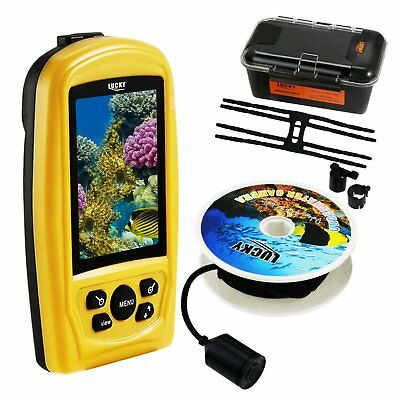 "Handheld 3.5"" Color Live-view Display Monitor CMD Sensor Fish Finder Sea Locator"