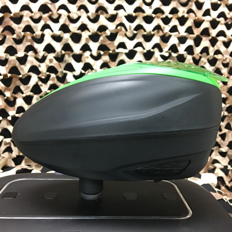 NEW Dye LTR Electronic Paintball Hopper Loader - Black/Lime