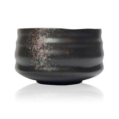 Ceremonial Bowl - Black Handmade Ceremonial Matcha Bowl
