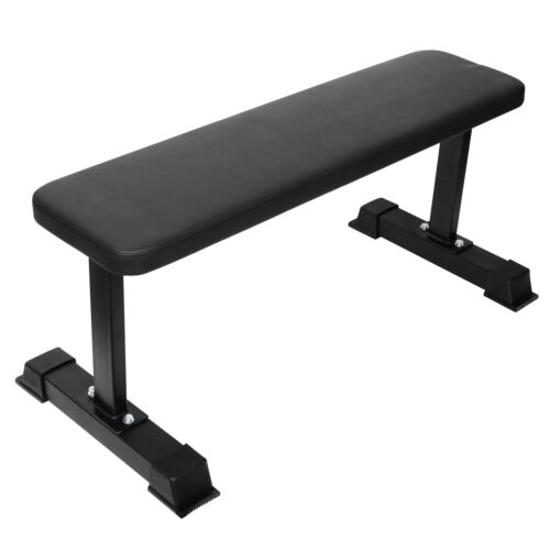 Strength Flat Utility Bench Weight Lifting Gym Workout Fitness Home Exercise Benches