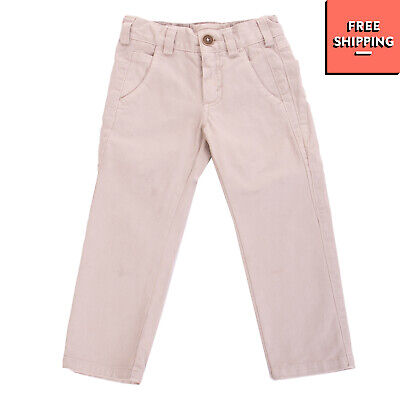 OFFICINA 51 Trousers Size 2Y Zip Fly Five Pockets Design Slim Fit