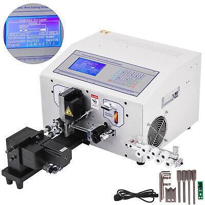Computer Wire Stripping Twisting Machine 0.1-4.5mm2 Wire Cutting Peeling