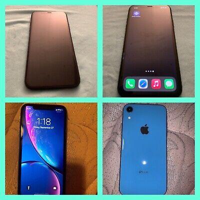 2 Apple iPhone XR - 64GB - Blue & Black